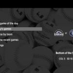 MLB.TV on Roku home screen