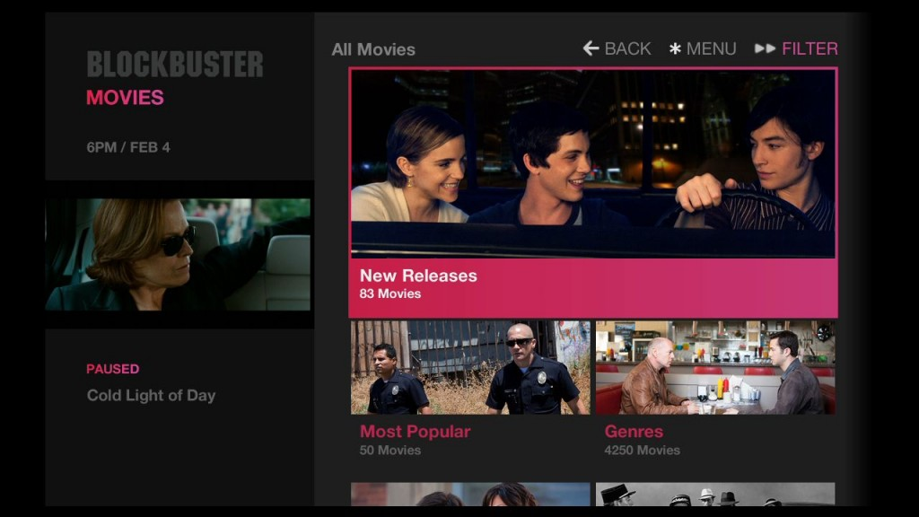 blockbuster on demand launches on roku