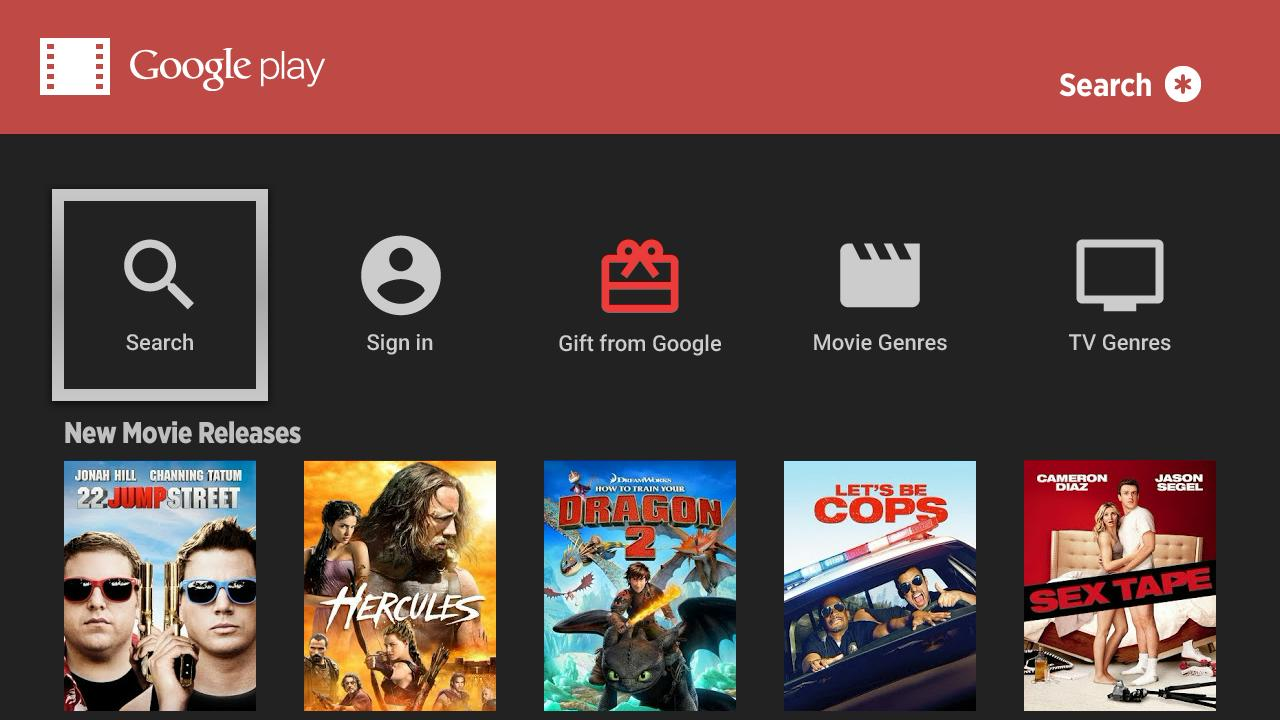 how to refresh google play new