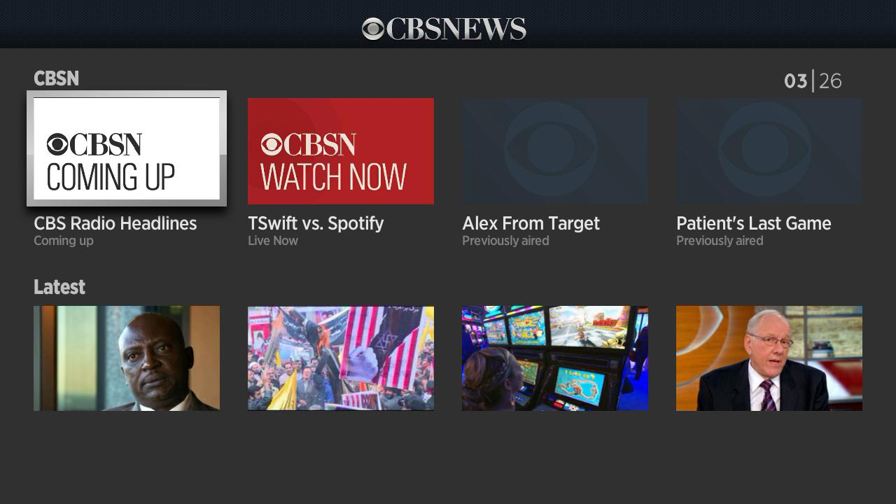 New on CBS News: CBSN, the Live, Anchored Streaming News Network