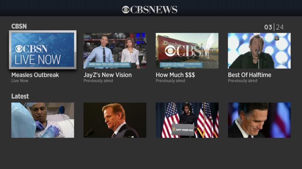 CBS News January 2015
