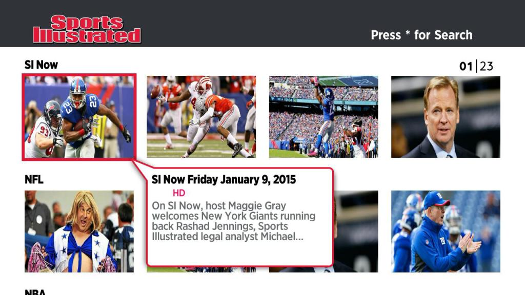 Sports Illustrated Roku