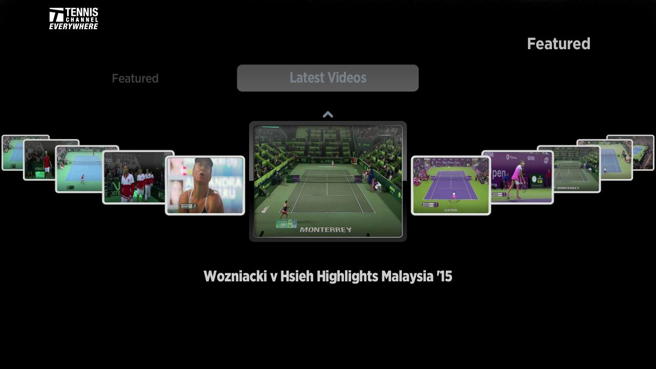 Now serving in the Roku Channel Store: Tennis Channel