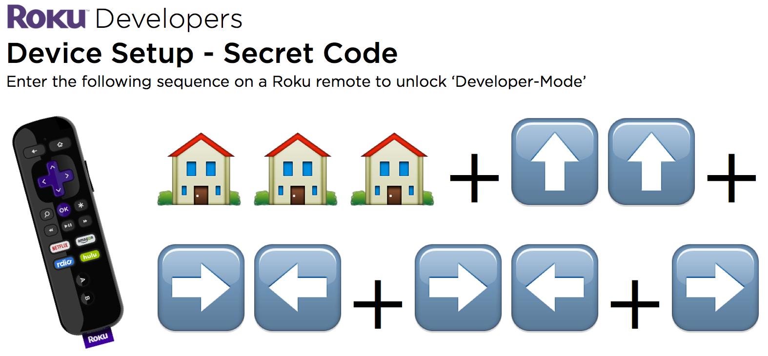 Device Setup Guide For Roku Developers