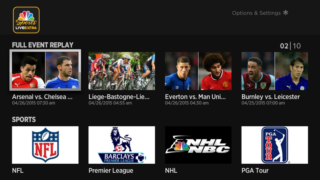 Nbc Sports Live Extra Score It Now In The Roku Channel Store Roku