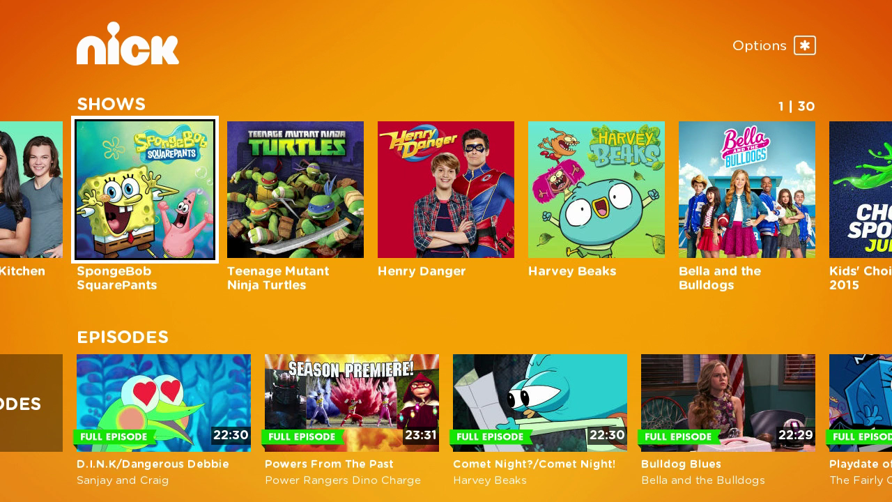 New in the Roku Channel Store: Nickelodeon