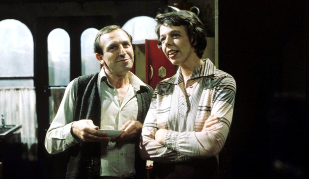 Image result for rising damp 70's tv sitcom
