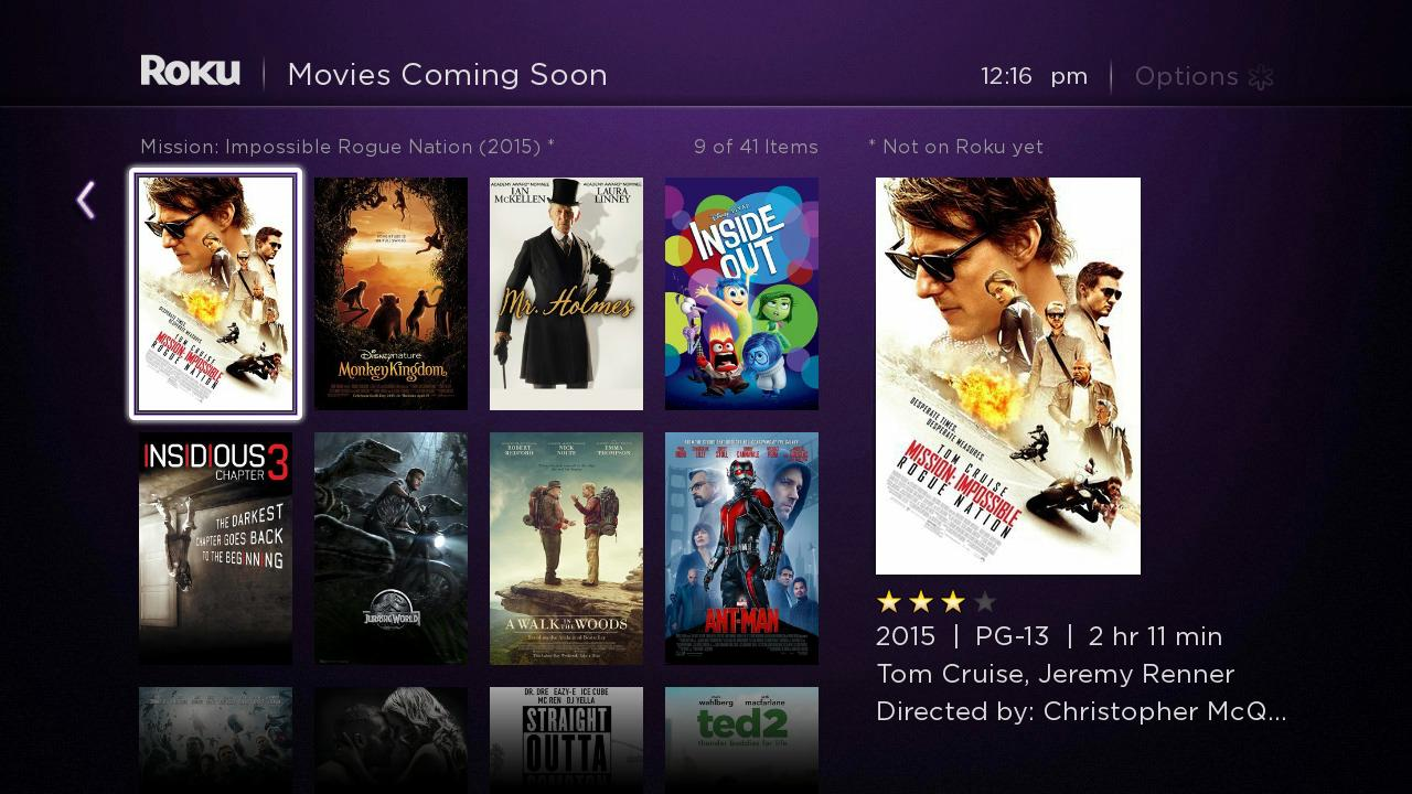 Roku Search: Search across 20 Streaming Channels for Movies, TV Shows, Actors and Directors! | Roku