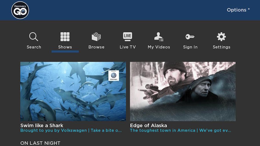 Discovery family of networks now streaming on the Roku platform