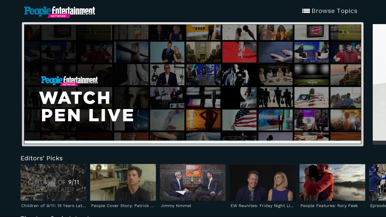 The People/Entertainment Weekly Network now streaming FREE on the ...