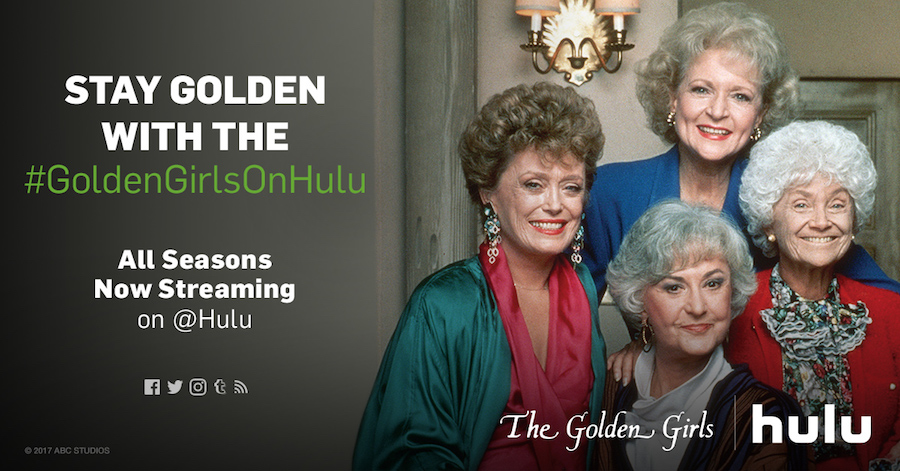 Stream The Golden Girls Today On Hulu
