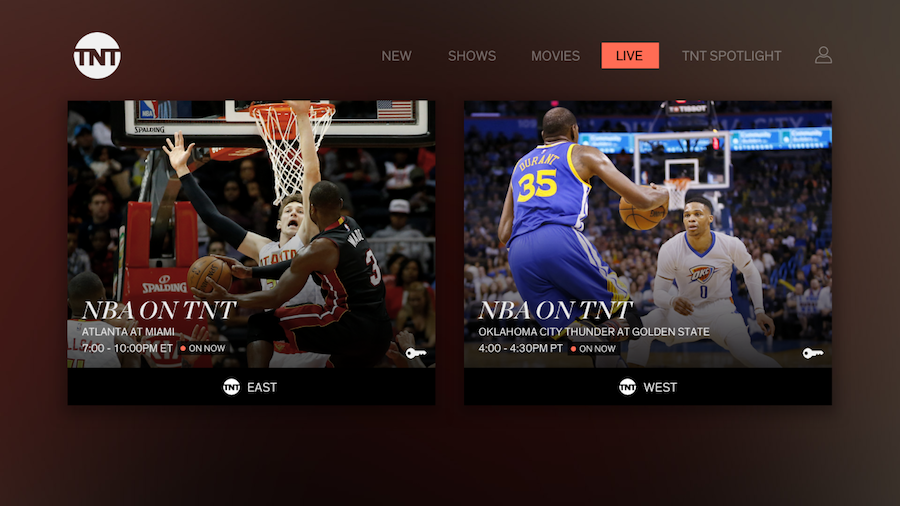 TBS and TNT now available on the Roku platform