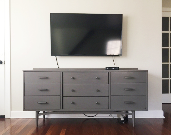 clear the clutter how to hide tv wires and cords guest. Black Bedroom Furniture Sets. Home Design Ideas