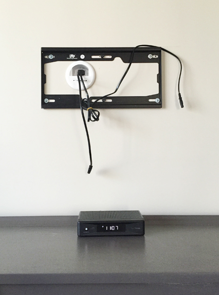 Clear the clutter: how to hide TV wires and cords [guest post from Young  House Love]